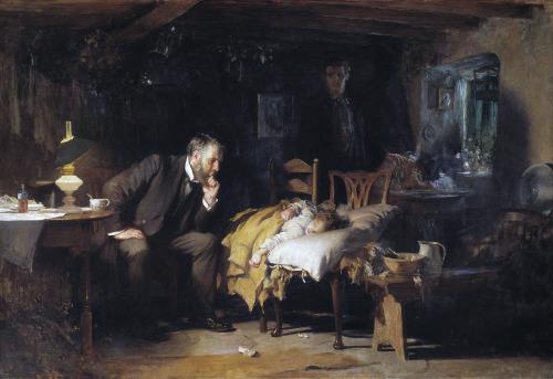"""Luke Fildes - """"El Doctor""""."""