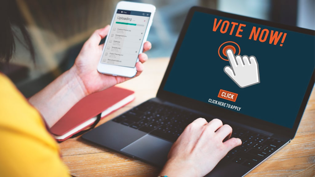 plataforma voto electronico configuracion