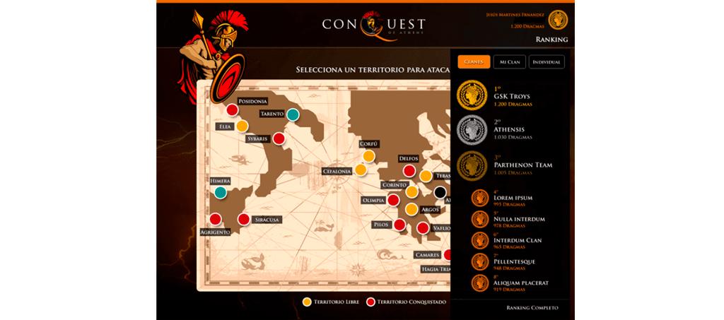 Conquest juego de gamificacion