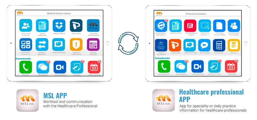 Ejemplos de App de plataforma MSL