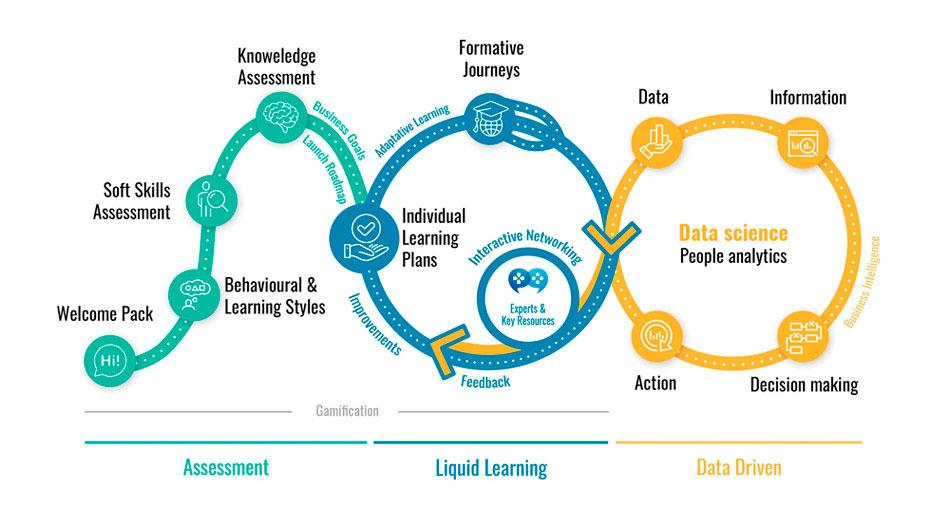 Diagrama de liquid learning cycle